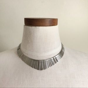 Free People Silver necklace NWT